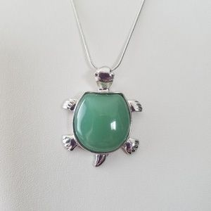 Jewelry - Sea Turtle Necklace/Tortoise Turtle Pendant